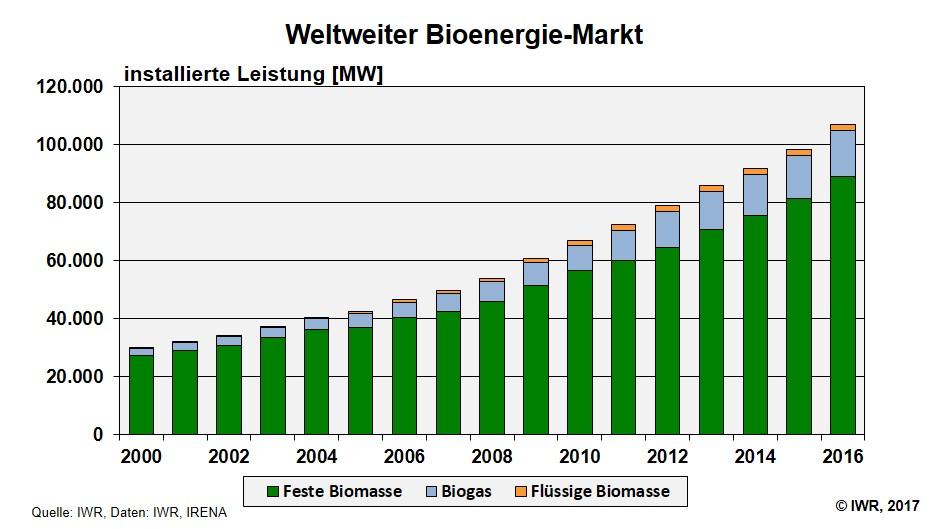 Bioenergie Branche Welt